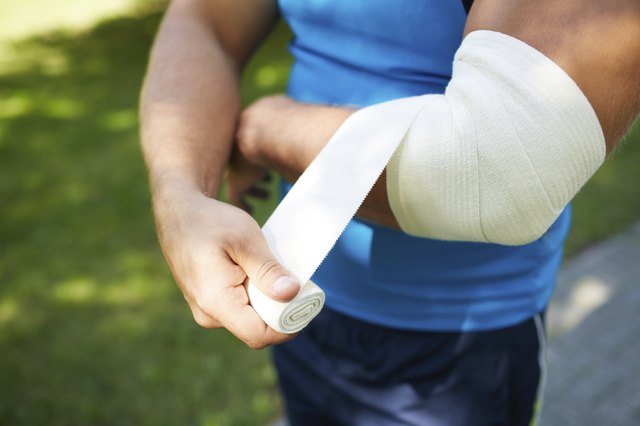 Bandaging arm