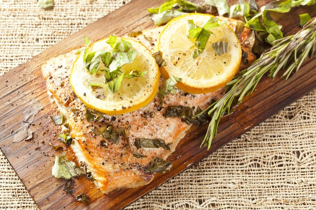 Fresh Grilled Salmon