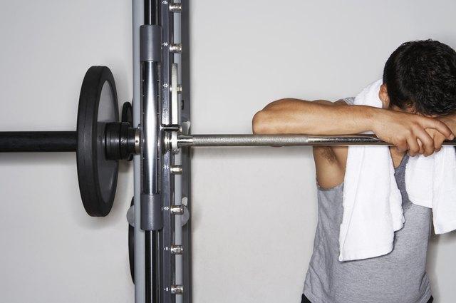 Weightlifter Resting