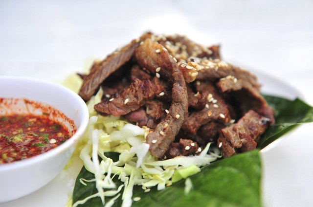Beef Roast Thailand Style