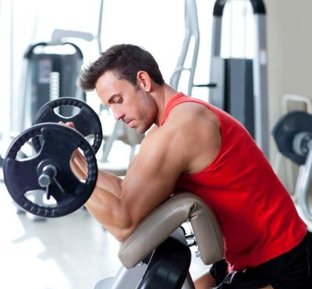 Good Ways to Increase Arm Size & Reduce Stomach Fat | Livestrong.com