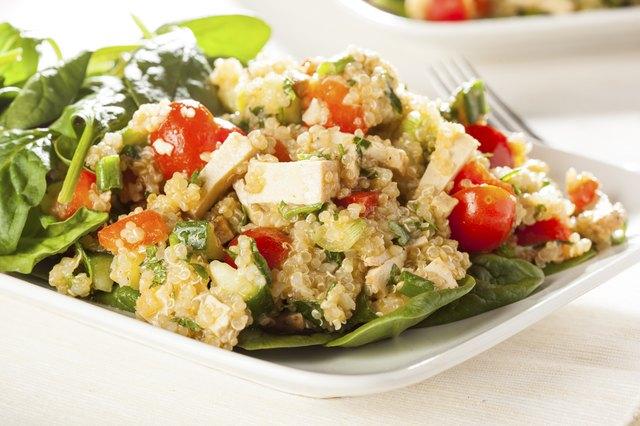 Organic Vegan Quinoa with vegetables