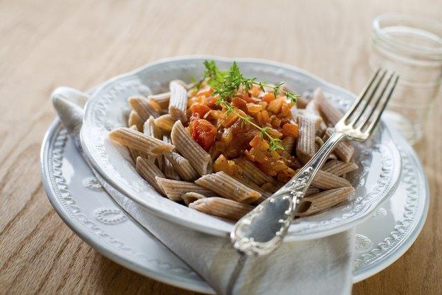 Healthy pasta