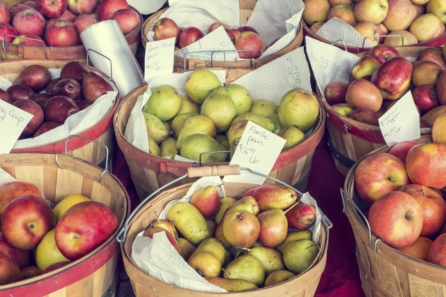 Apples and Pears for Sale