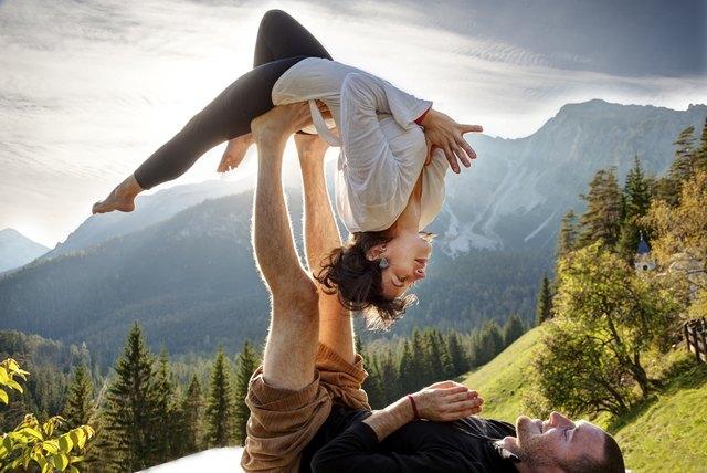 Balancing on Feet