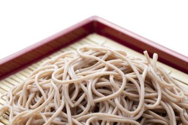 Soba Noodles Nutrition