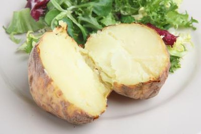 Baked Potato Vs. Rice Nutrition