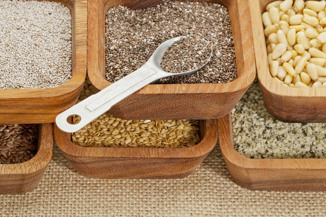 chia and other healthy seeds