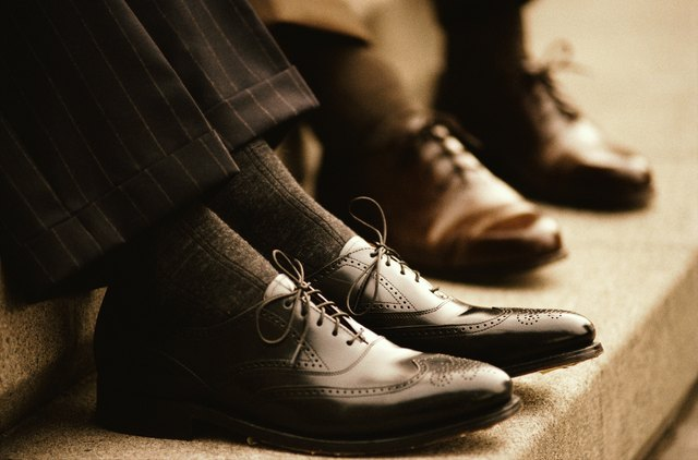 Businessmen's Wingtip Shoes