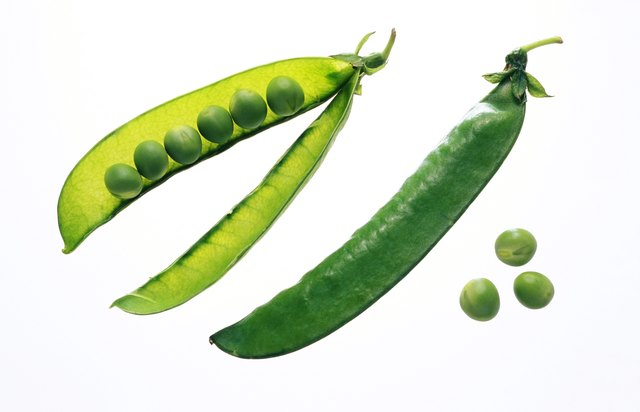 Peas and pods