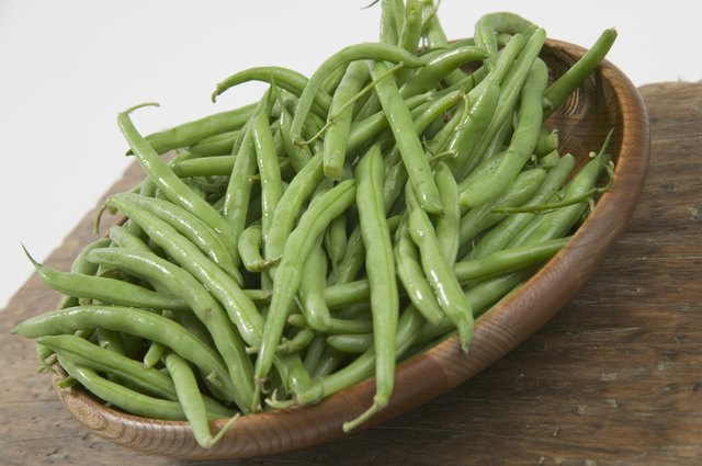 Bowl of green beans