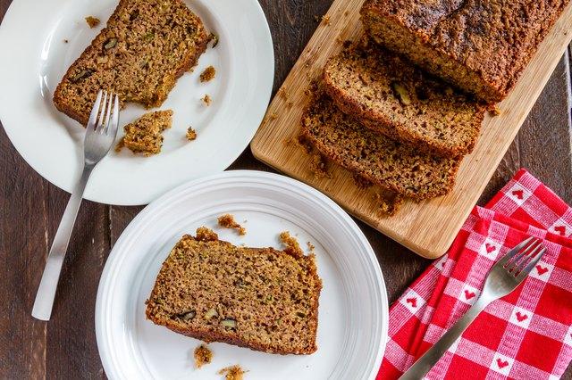 Homemade Zucchini and Cinnamon Bread