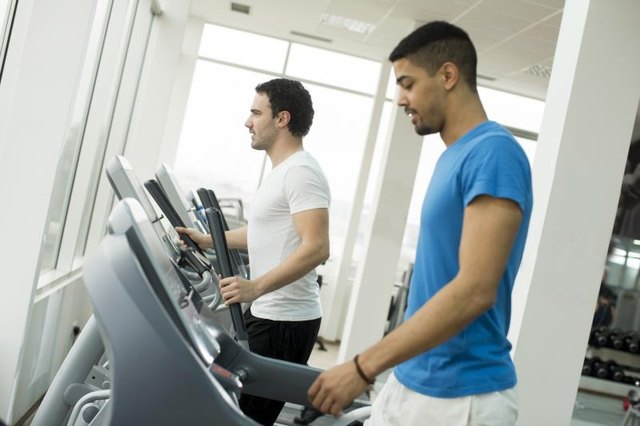 Burn calories with a variety of cardio methods.