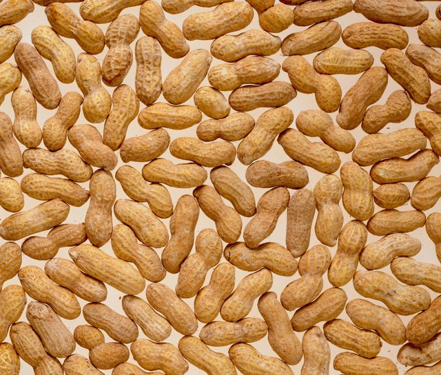 Whole shelled peanuts