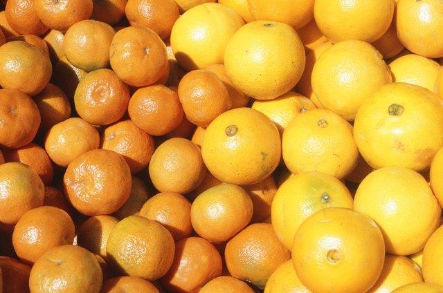 Oranges and grapefruits, Tel Aviv, Israel