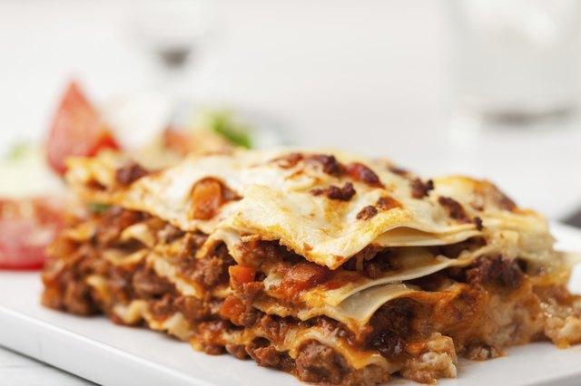 Calories in Meat Lasagna