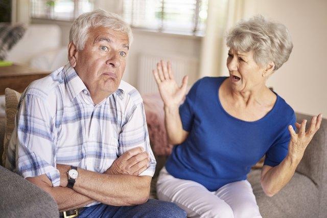 Argument of senior couple is no joke
