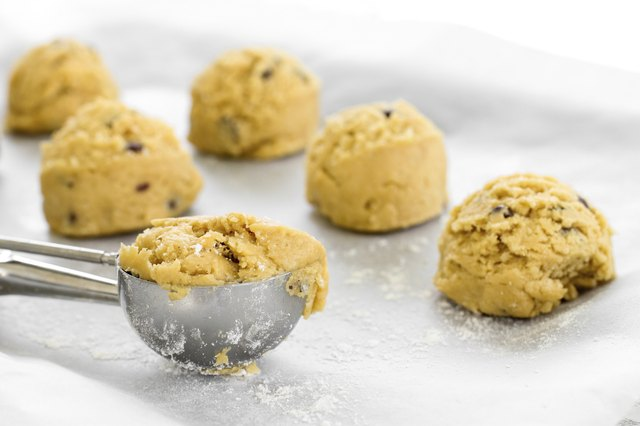 Almond chocolate chip cookie