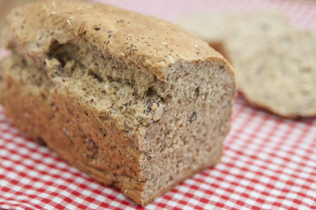 Home baked Hazelnut Bread