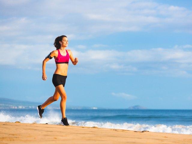 Fitness Woman Running