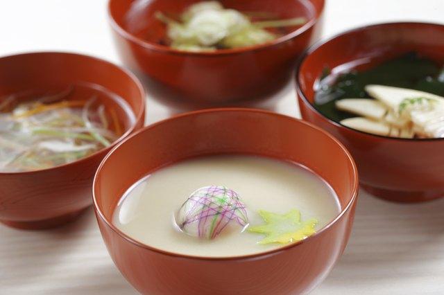 White miso soup