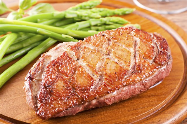 Duck Breast with Asparagus