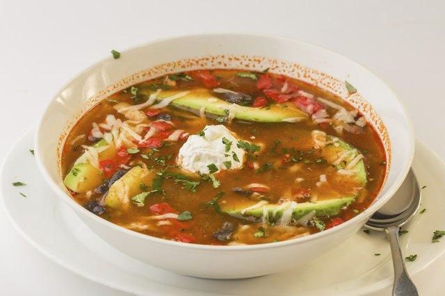 Tortilla Soup closeup