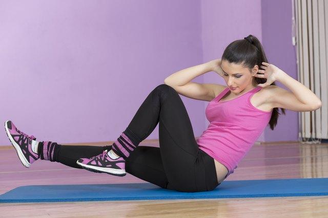 Woman in fitness sport