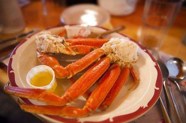 Alaskan snow crab
