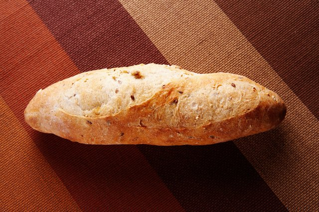 Baguette of french bread
