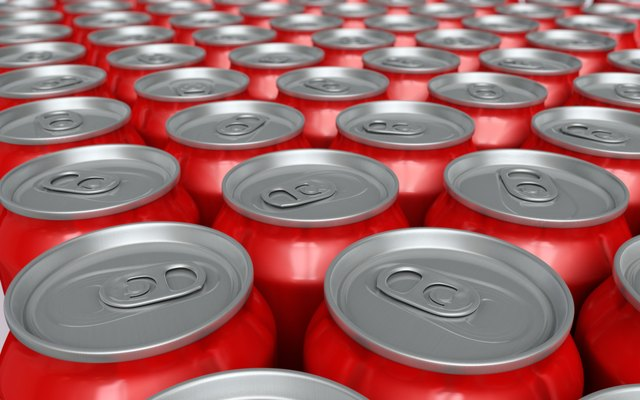 soda drink cans