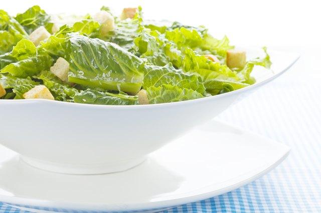 Can Pregnant Women Eat Caesar Salads? | Livestrong.com