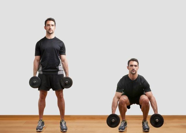 Bodyweight Squats Vs. Dumbbell Squats