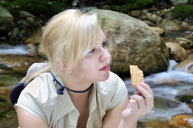 Nature Girl Eats Healthy Snack