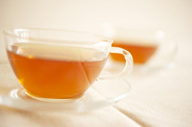 Cups of tea, close up