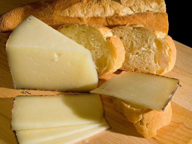 Manchego Cheese and Baguette