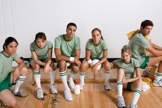 Portrait of a sports team