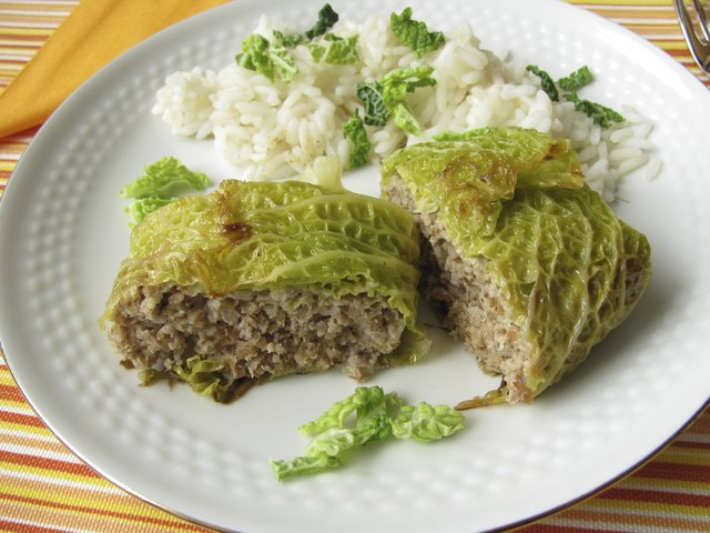Stuffed cabbage - Kohlroulade