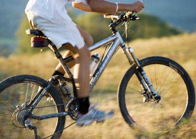 Mountain biker, low section