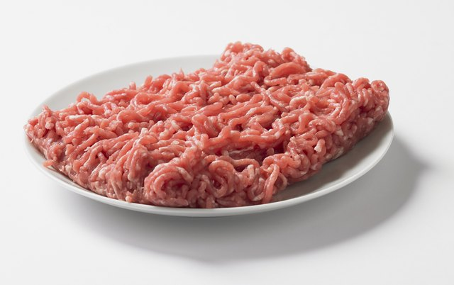 Nutrition Information for Drained Ground Beef