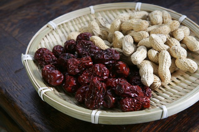 dried date and peanut