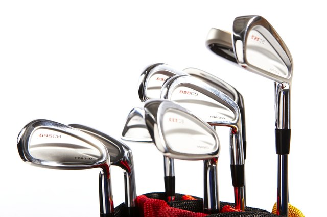List of Different Types of Golf Clubs & Their Uses | Livestrong.com