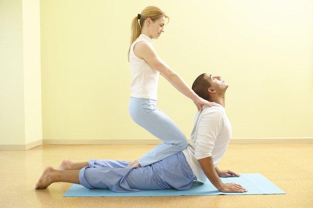 Yoga teamwork