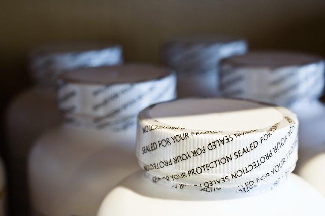 Pill bottle lids