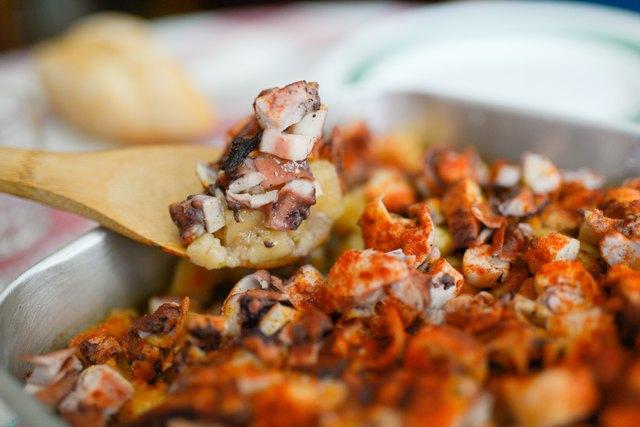 Octopus food