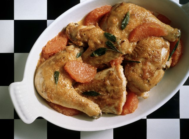 Young Chicken with Grapefruit