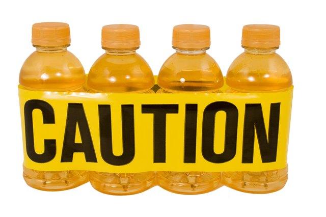 Sports Drink...Caution