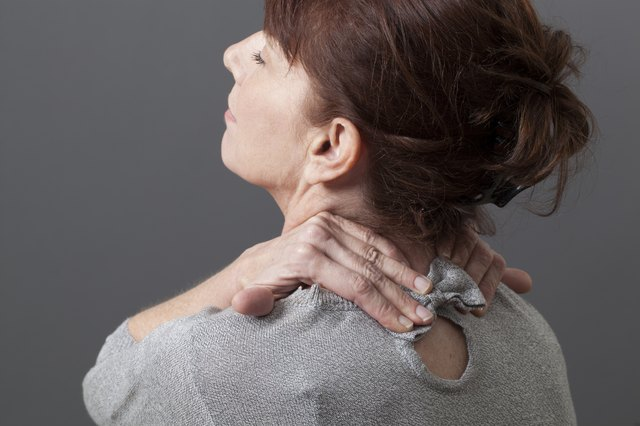 relaxing pain and pressure in neck and shoulders