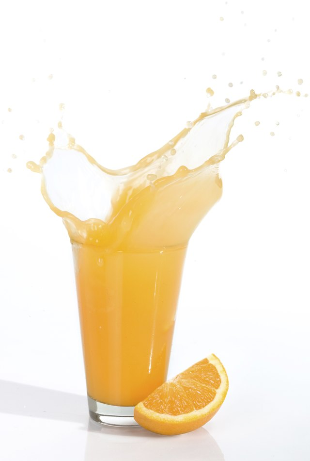 How Many Calories Are in One Glass of Orange Juice?