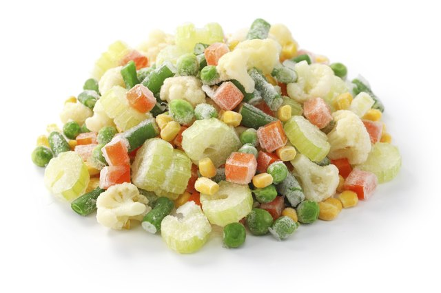 The Health Benefits of Frozen Mixed Vegetables